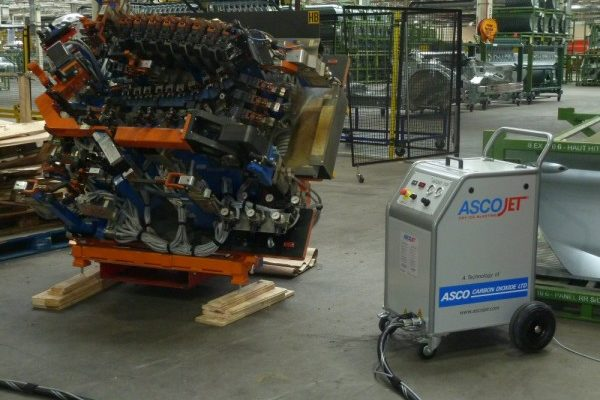 GM Vauxhall Dry Ice Blasting