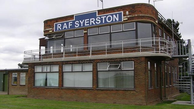 RAF Syerston Torbo Dustless Blasting