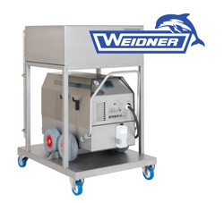 Weidner Dry Steam Conveyor Belt Cleaner