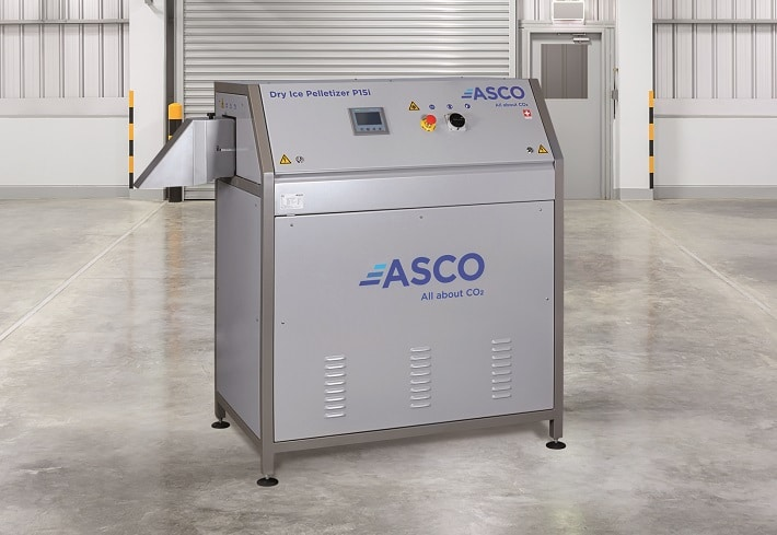 ASCO P15i Dry Ice Pelletizer